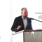 MC Ben MacPhee-Sigurdson , Winnipeg Free Press Books Editor & Wine Columnist- Books and Brunch 2015