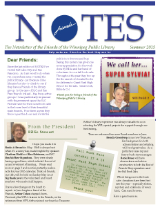 Notes Summer Issue 2015