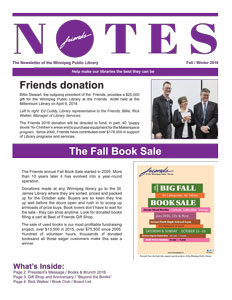Notes Fall Winter Newsleter