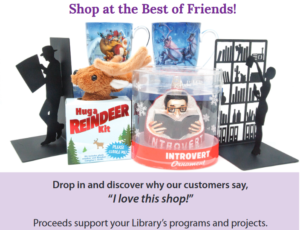 Shop at the Best of Friends Shop